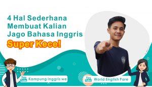 cara untuk jago bahasa inggris