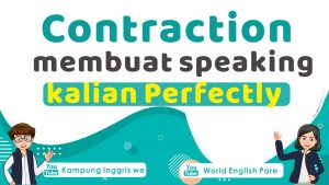 contraction dalam bahasa inggris
