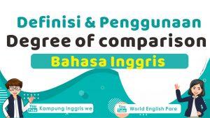 Degree of comparison bahasa inggris