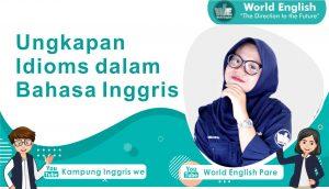 Idiom dalam bahasa inggris