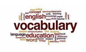 Pentingnya Kosakata (Vocabulary)