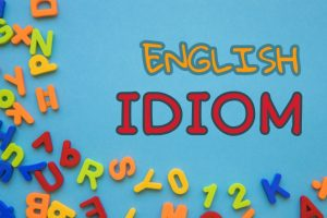idiom bahasa inggris