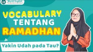 Istilah-Istilah Khas Ramadhan Dalam Bahasa Inggris, Mulai Dari Sahur Sampai Buka Puasa