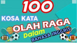 Kumpulan Kosakata Seputar Olahraga Dalam Bahasa Inggris, Pahami dan Hafalkan Ya!!!