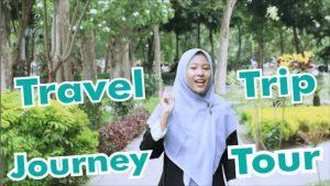 perbedaan trip travel tour dan journey