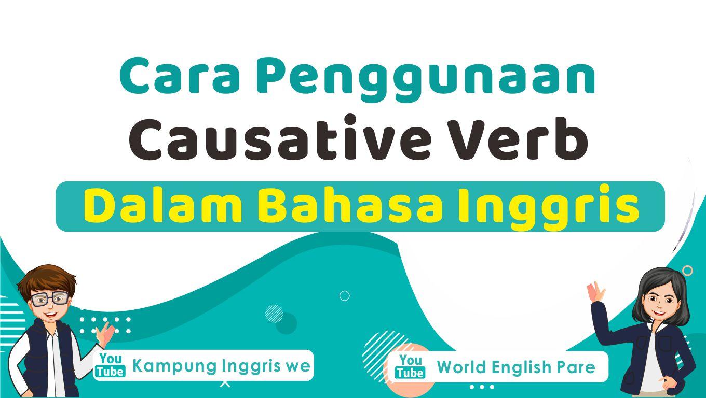 penggunaan causative verb