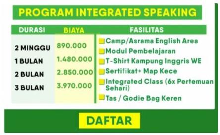 Biaya dan Program