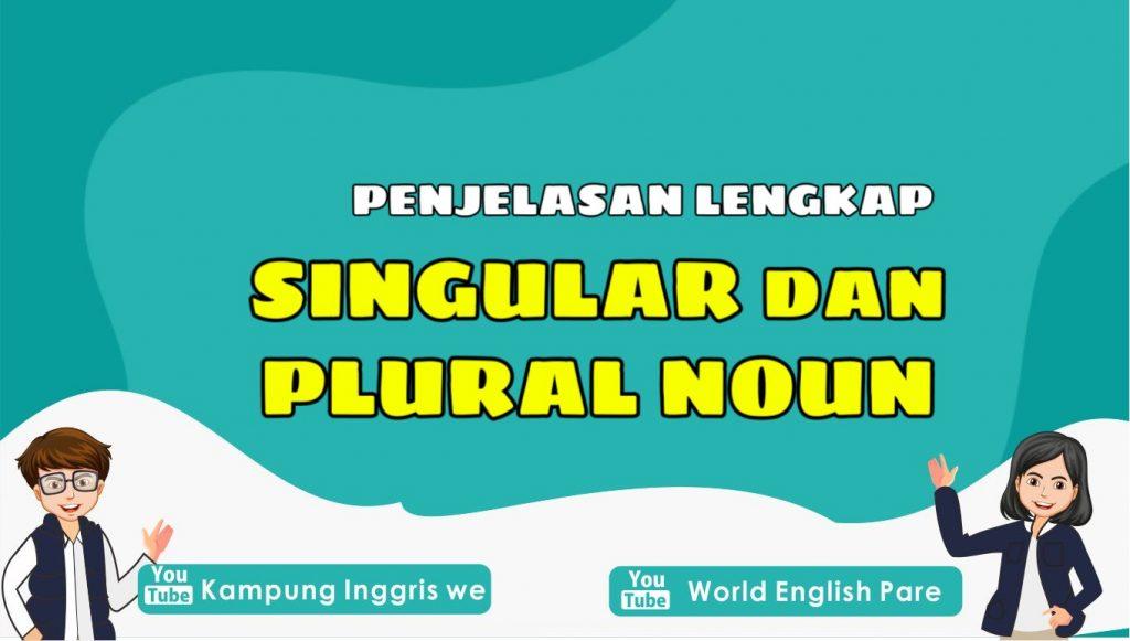 Singular dan Plural Noun: Pengertian Beserta Contoh Lengkap, Pelajari Yuk!